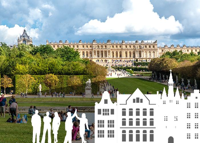 Jeu Anniversaire insolite à Versailles