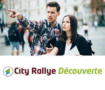 City Rallye Découverte Jeu de Piste Citeamup Activité sortie famille Familiale visite en Ville